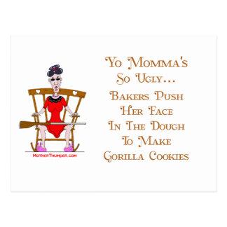 Yo Momma # 05 Postcard