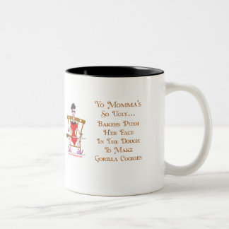 Yo Momma # 05 Two-Tone Coffee Mug