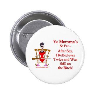 Yo Momma #07 Button