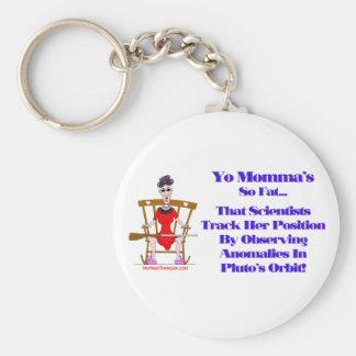 Yo Momma # 09 Basic Round Button Keychain