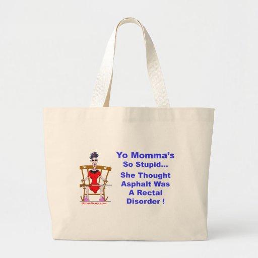 Yo Momma 10 Tote Bag