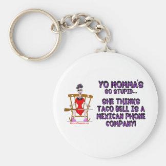 Yo Momma # 10 Basic Round Button Keychain