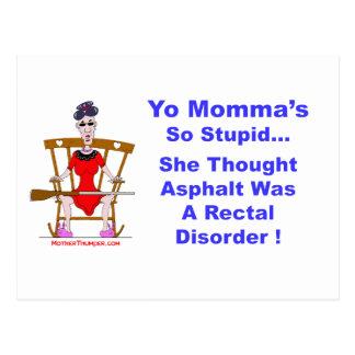 Yo Momma 10 Postcard
