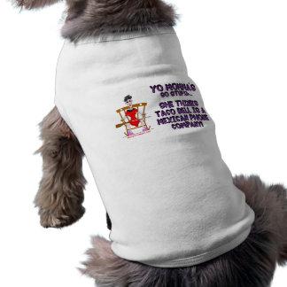 Yo Momma # 10 Camisa De Perro