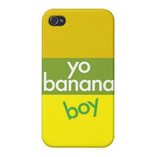 """""""Yo, muchacho del plátano """" iPhone 4/4S Fundas"""