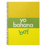 """""""Yo, muchacho del plátano """" Libro De Apuntes Con Espiral"""