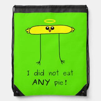 Yo no comí NINGÚN polluelo de la empanada Mochila