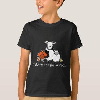 Yo no como a mis amigos playera