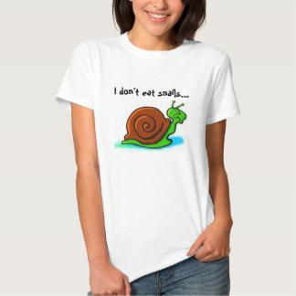 Yo no como caracoles… que tengo gusto de los polera