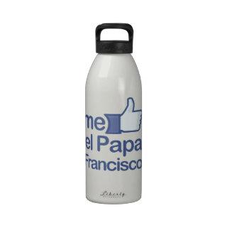 Yo papá Francisco del EL de Gusta Botella De Agua Reutilizable