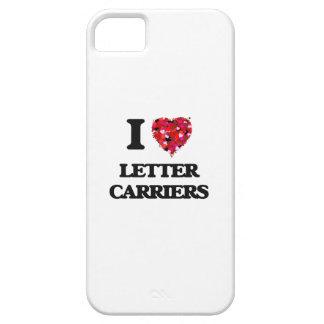Yo portadores de letra de amor iPhone 5 carcasas
