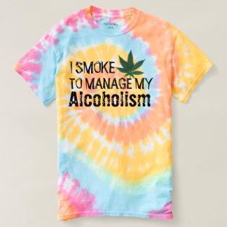 yo pote de humo para manejar mi camiseta divertida