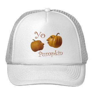 Yo Pumpkin Trucker Hat