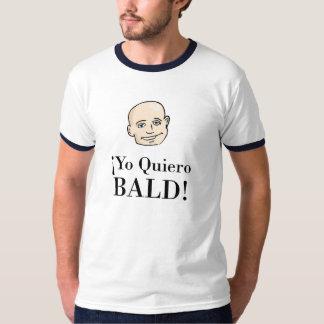 YO QUIERO CALVO PLAYERA