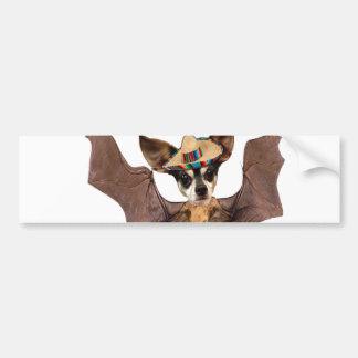 Yo quiero el murcielago perro - I love the Batdog Bumper Sticker