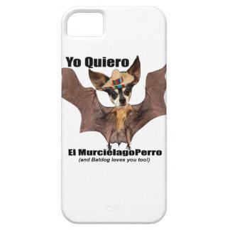 Yo quiero el murcielago perro - I love the Batdog iPhone SE/5/5s Case