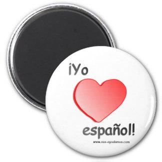 Yo quiero español Magnet