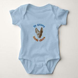 Yo quiero gozar baby bodysuit