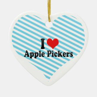 Yo recogedores de Apple de amor Ornamentos De Reyes