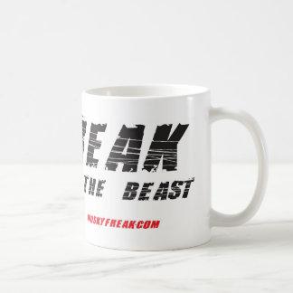¡Yo-ser--monstruo! ¡Caza almizclada! Taza Básica Blanca