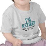 Yo-ser-Retirado (blanco) Camiseta