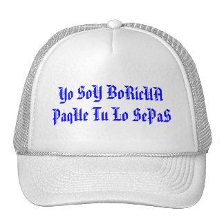 Yo SoY BoRicUA PaqUe Tu Lo SePaS Mesh Hats