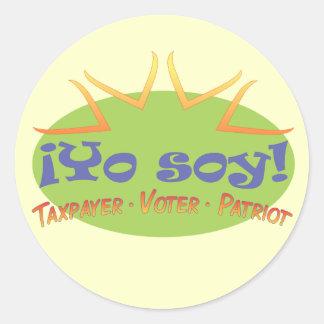 Yo Soy! (Green) Stickers