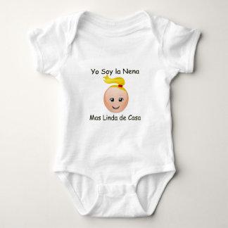 Yo Soy la nena mas linda de Casa Baby Bodysuit