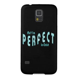 ¿Yo Soy perfecto… en Cristo - 10 14 de los hebreo Carcasa Para Galaxy S5