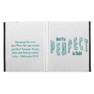 ¿Yo? Soy perfecto… en Cristo - 10:14 de los hebreo