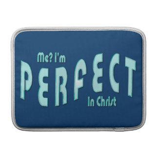 ¿Yo? Soy perfecto… en Cristo - 10:14 de los hebreo Fundas Para Macbook Air