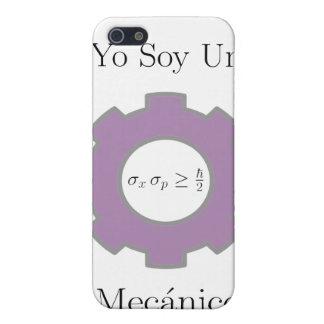 Yo soy un mecånico cuånta iPhone SE/5/5s cover