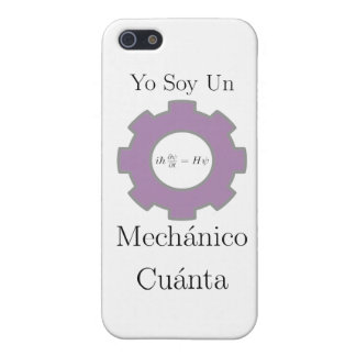 yo soy un mechanico cuanta, Schrodinger equation Cover For iPhone SE/5/5s