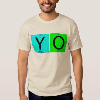 YO squares Tee Shirts