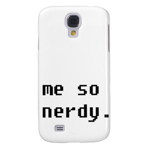 Yo tan nerdy.