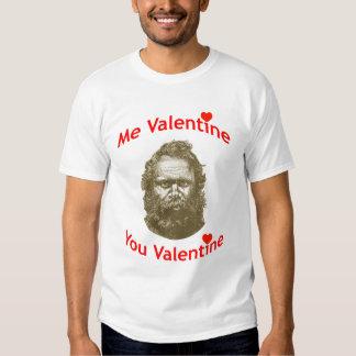 Yo tarjeta del día de San Valentín, usted tarjeta Polera