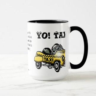 Yo! Taxi! (Personalized) Mug