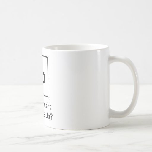 Yo The Element of What's Up? Classic White Coffee Mug