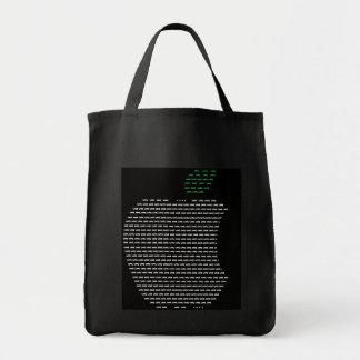 Yo tote del ultramarinos de Apple de amor Bolsa Tela Para La Compra