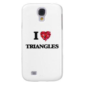 Yo triángulos de amor funda para galaxy s4