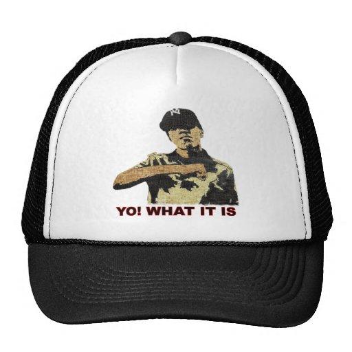 Yo! What it is. Hip Hop Trucker Hat