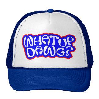 Yo what up dawg trucker hat