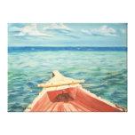 Yo y el océano impresiones en lienzo estiradas