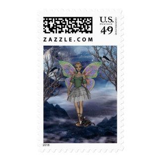 YO y faerie 3med verde Franqueo