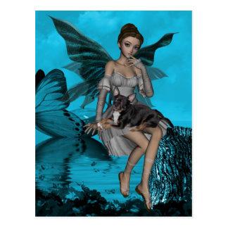 YO y los faeries 13 Tarjetas Postales