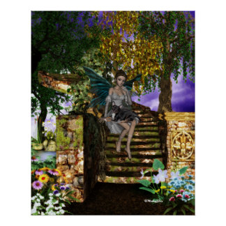 YO y los faeries 15 Póster