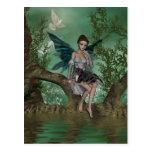 YO y los faeries 18A Postales