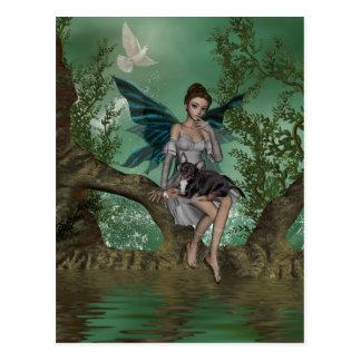 YO y los faeries 18A Postal