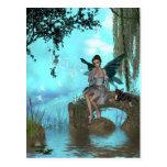 YO y los faeries 23 Tarjetas Postales