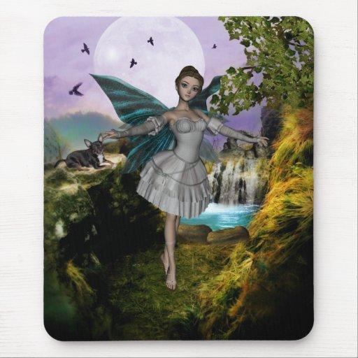 YO y los faeries 9A Tapetes De Ratón